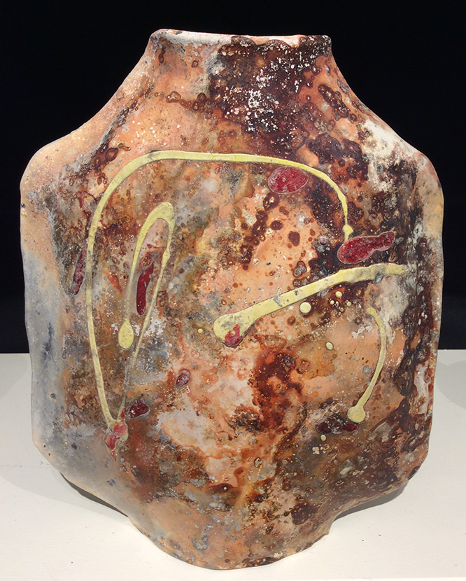 For the month of November 2016, the La Mano gallery is featuring recent  work of ceramic artist Peggy Clarke. - Out Of The Earth: Pit Fired Ceramics – La Mano Pottery